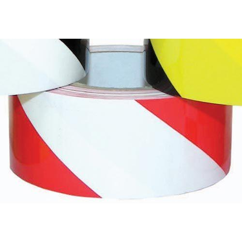 "2"" x 36 Yards Vinyl Tape - Red/White Striped"