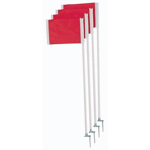 Deluxe Soccer Corner Flag Set
