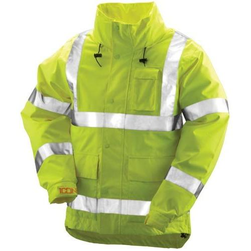 Icon Jacket w/ Attached Hood - 5XL
