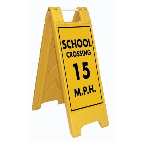 Fold-Up Sign - School Crossing