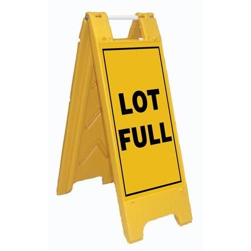 Fold-Up Sign - Lot Full