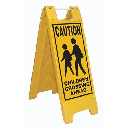 Fold-Up Sign - Caution Children Crossing Ahead
