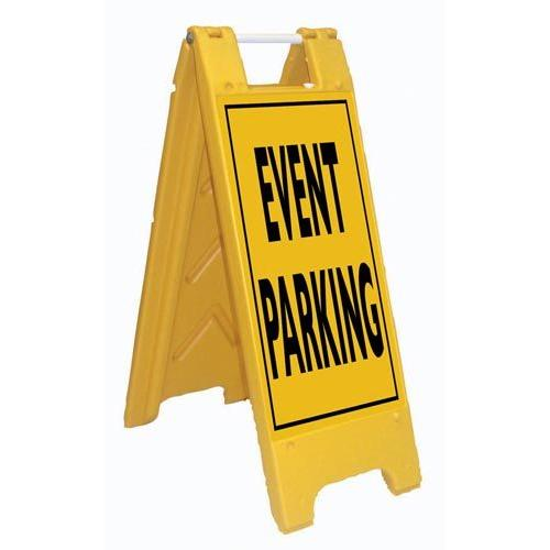 Fold-Up Sign - Event Parking