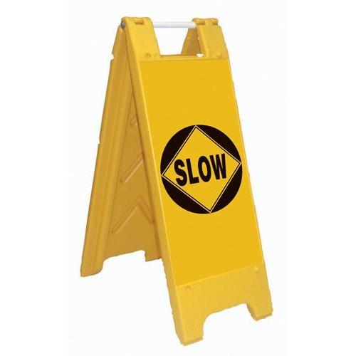 Fold-Up Sign - Slow