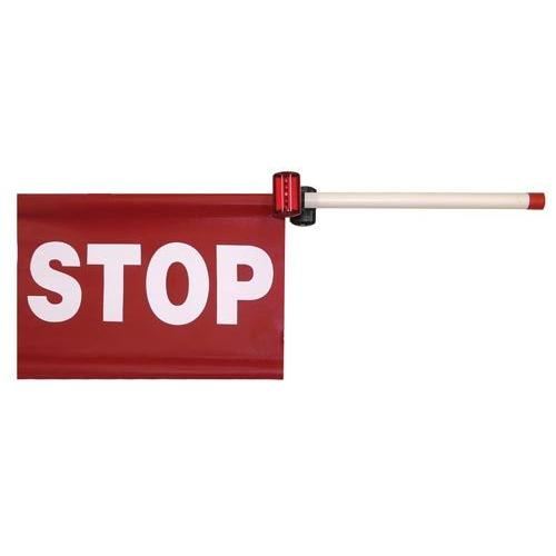 "13"" x 20"" Wand Type Stop Sign w/ 2 Lights"