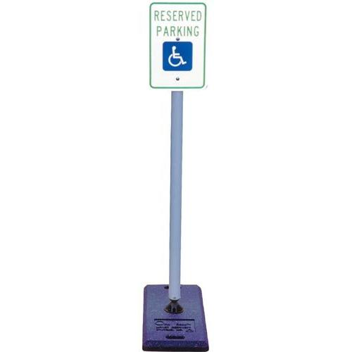 "Handicap Sign with Portable ""One Base"""