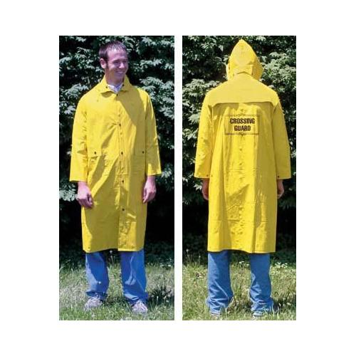 Yellow Raincoat W/Emblem-XX-Large