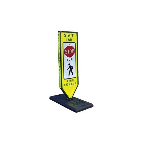 "Safety ""Stop"" Sign-Portable Base"