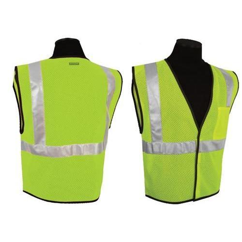 ANSI Class II Compliant Vest - Lime (L-XL)