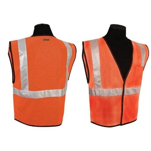 ANSI Class II Compliant Vest - Orange (S-M)