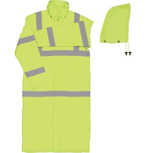 "50"" Rain Coat Lime-Med"