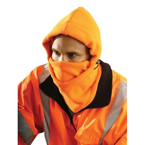 Fleece Balaclava With Face Panel