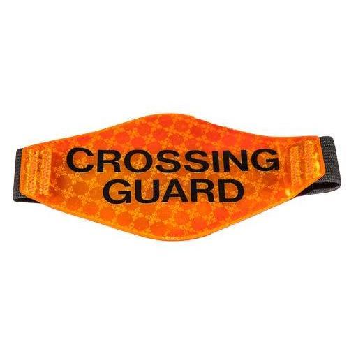 Prismatic Reflective Armband (Orange w/ Crossing Guard)