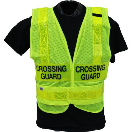 Lime Crossing Guard Vest - X-Large