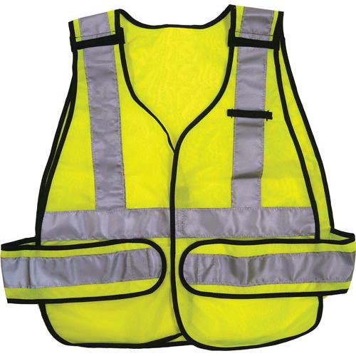 ANSI 5-Point Break-Away Safety Vest - Lime Green