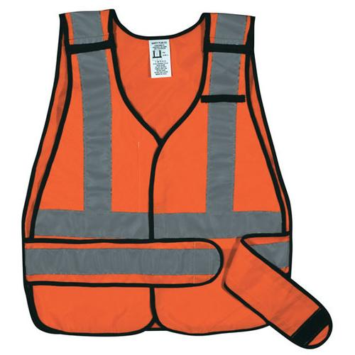 ANSI 5-Point Break-Away Safety Vest - Orange