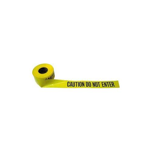 Barrier Tape (Caution Do Not Enter) 1000' Roll