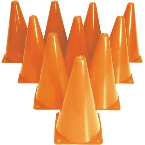 """9"""" Drill Cones - Set of 10"""
