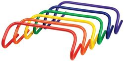 """6"""" Colored Speed Hurdles - Set of 6"""