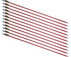 "26"" Hardwood 5/16"" Arrows - 12 Arrows"