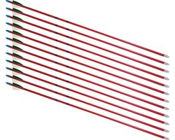 "28"" Hardwood 5/16"" Arrows - 12 Arrows"