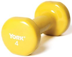 Pair of Vinyl-Coated Dumbbells - 4 lbs