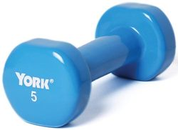 Pair of Vinyl-Coated Dumbbells - 5 lbs