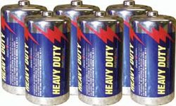 C Heavy Duty Batteries - 6 Pack