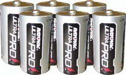 C Alkaline Batteries - 6 Pack