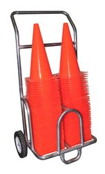 Double Poly Cone Cart