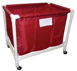 Large PVC/Nylon Equip. Cart - Red