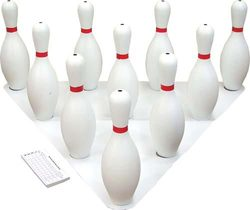 Bowling Pins Set - Weighted