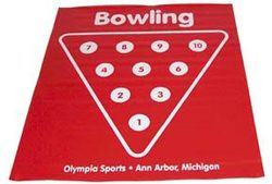 Bowling Pin Placement Pad