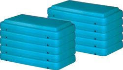 """4"""" Fitness Steps - Pack of 10"""