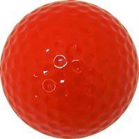 Colored Golf Balls - Red (Dozen)