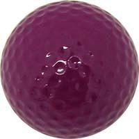 Colored Golf Balls - Purple (Dozen)