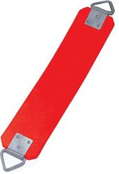 "5/16"" Vandal-Proof Rubber Swing Seat - Red"