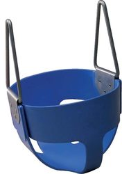 Rubber Enclosed Infant Swing Seat - Blue