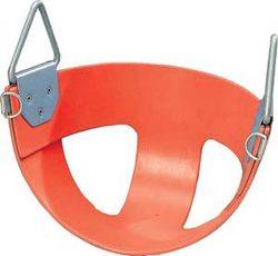 Bucket Rubber Swing Seat - Red