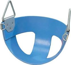 Bucket Rubber Swing Seat - Blue