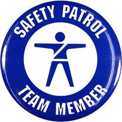 Safety Patrol Team Member Buttons - ST/12
