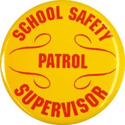 Safety Patrol Supervisor Buttons - ST/12