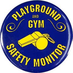 Playground/Gym Safety Monitor Buttons