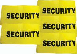 I.D. Armbands - Security (Set of 5)