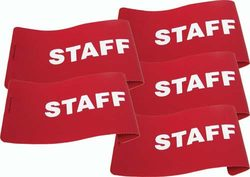 I.D. Armbands - Staff (Set of 5)