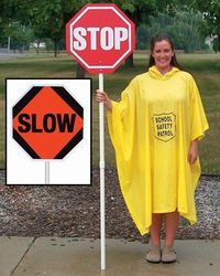 Stop/Slow Sign w/o Lights