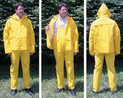 3-Piece Rain Suit - Large