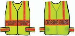 Crossing Guard Vest - Lime w/ Orange (Standard)