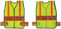 Crossing Guard Vest - Lime w/ Orange (X-Large)