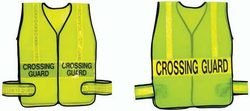Crossing Guard Vest - Lime w/ Lime (X-Large)